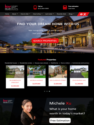 Ottawa Realtor Michele Xu | Legend IT Inc
