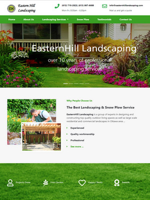 EasternHill Landscaping | Legend IT Inc