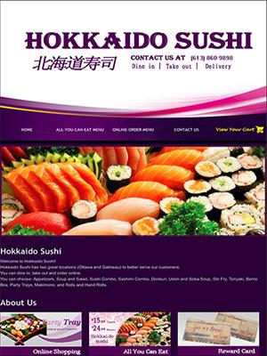 Hokkaido Sushi | Legend IT Inc