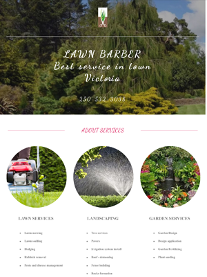 Lawn Barber Victoria | Legend IT Inc