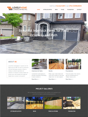 Lovely Home Landscaping   Legend IT Inc