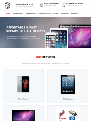 Phone Repair Plus | Legend IT Inc