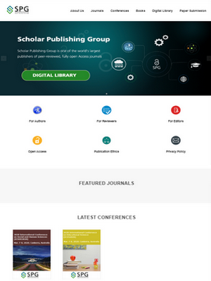 Scholar Publishing Group | Legend IT Inc