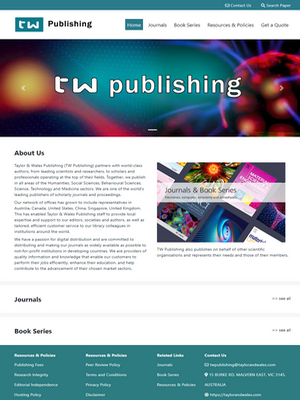 Taylor & Wales Publishing | Legend IT Inc