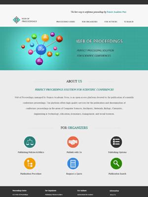 Web of Proceedings   Legend IT Inc